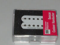 Seymour Duncan SH-5 Custom Humbucker Guitar Pickup WHITE    New with Warranty