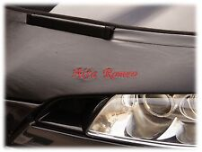 BRA PER ALFA ROMEO MITO da anno fabbricazione 2008 con logo pietrisco Protezione Tuning Car Bra