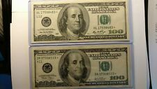 New Listing{2} Star $100.00 Federal Reserve Notes One 2003 and the other One 2006