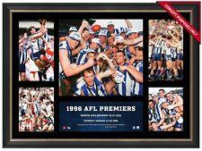 1996 AFL Premiers North Melbourne Kangaroos AFL L/E Official Premiergraph Framed