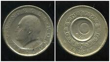 NORVEGE 10 kroner 1987  ( bis )