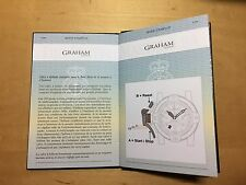 GRAHAM Chronofighter Oversize Diver - Date Passport with Operating Instructions