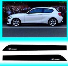 CCG 2pcs M Performance Side Skirt Sill Decal Stripe Sticker for BMW 1 Series F20