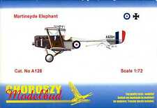 Choroszy Models 1/72 MARTINSYDE ELEPHANT British WWI Fighter