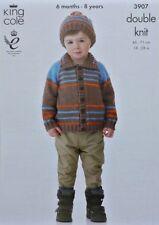 Children's Clothing DK/Double Knit Cardigans Patterns
