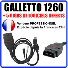 Cable/interface galletto 1260 software + ecusafe & immokiller reprog autocom
