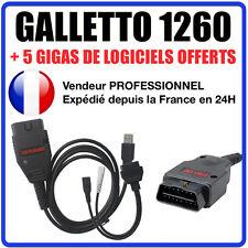 Câble / Interface GALLETTO 1260 + Logiciels ECUSAFE & IMMOKILLER REPROG AUTOCOM