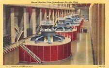 Hoover (Boulder) Dam Nevada - Powerhouse Nevada Wing - Postcard Unused