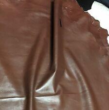 LAMBSKIN LEATHER 1.5 OZ NAPA SKIN 4 Garments Bags LARGE Soft Brown 6.75-7.75 Sf