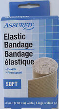 ELASTIC SUPPORT BANDAGE Flexible Firm Soft 3 Inch x 4.8 Yards