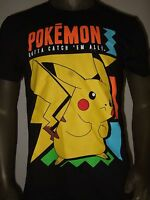New Men's Pokemon Go Pikachu Gotta Catch Em All Nintendo Anime Tee Shirt