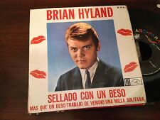 """BRIAN HYLAND SPANISH 7"""" SINGLE SPAIN EP - SEALED WITH A KISS - ROCKER"""