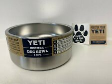 Yeti Boomer 4 Dog Bowl Brand New