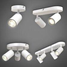 LED Spotleuchte schwenkbar Retro Weiß GU10 Deckenlampe Wandleuchte Spot Flur