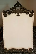 Nib Gg Collection Gracious Goods Acanthus Leaf Dry erase ceramic Memo Board New