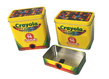 Crayola Storage Tin - Holds 96 Colors - Sharpener Included