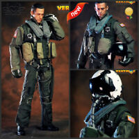 VERYHOT 1/6 VH1049 101st US Navy Fighting Combat Squadron Pilot Equipment Suit