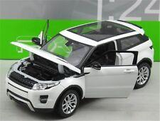 1/24 1:24 Diecast Range Rover Evoque White NEW