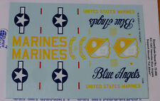 Microscale Decal 1:72 Scale #72-896 KC-130T Hercules Blue Angels Support Arcft.