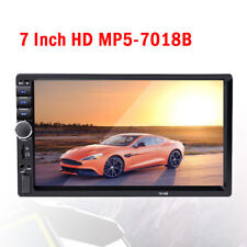 "7"" Touch Screen Stereo Radio+ Camera 2-DIN Car MP5 USB Player Bluetooth Unique"