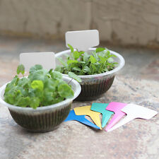 20pcs Set Plant Tags Marker Nursery Garden Labels Flower ID Plant Name Tags Pop