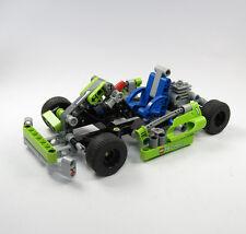 LEGO® TECHNIC Set 8256 Kart Racer Technik Unvollständig Grün