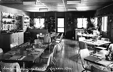 Real Photo Postcard Restaurant at Singing Springs Ranch in Agness, Oregon~110088