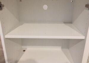 "Ikea Besta Shelf 402.955.28 22"" x 14 1/8"" White"