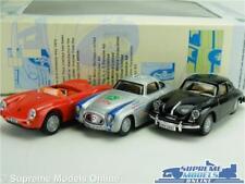PORSCHE 550A 356B COUPE MERCEDES 300SL MODEL CAR 1:72 SCALE CARARAMA SET K8