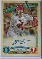 2019 Gypsy Queen baseball Dylan Cozens Philadelphia Phillies autograph GQA-DC