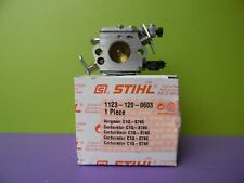 STIHL CHAINSAW MS250 ZAMA CARBURETOR OEM NEW # 1123 120 0603  C1Q-S76E