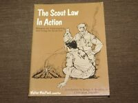 VINTAGE BSA BOY SCOUTS OF AMERICA 1966 SCOUT LAW IN ACTION BOOK