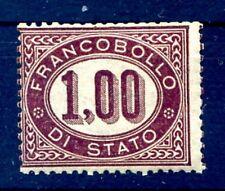 SERVIZIO 1875 -  1 Lira   Nuovo **