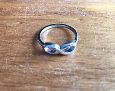 New Infinity Ring Silver Band Size 7