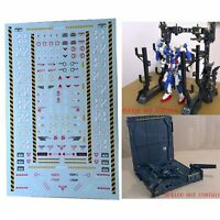 Stickers Warning Safety Decals Replacement for Machine Nest Gundam Model MSG NEW