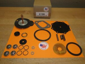 1950 DODGE D33 D34 DOUBLE ACTION FUEL PUMP REBUILD KIT MODERN MATERIALS USA