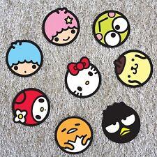 Sanrio Character Coasters Set [8 pcs] Hello Kitty Ornaments Paper Coasters Korea