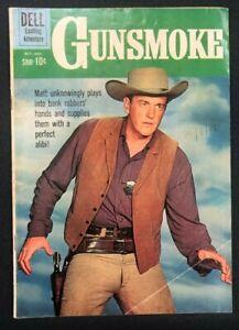 GUNSMOKE #23 (1960) Dell Comics western  VG+