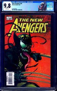 New Avengers #35 CGC 9.8 WOLVERINE VENOM CLASSIC COVER NM/MT CUSTOM LABEL