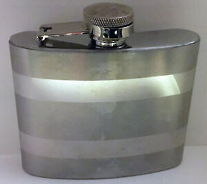 "Things Remembered stainless steel 502 hip flask Engraved ""Jay Scherer"""