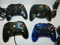 OEM Official Microsoft XBOX Original Controller - Pick A Color