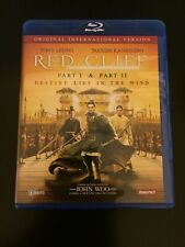 Red Cliff INTERNATIONAL EDITION ON 2-DISC BLU-RAY! Excellent Condition!