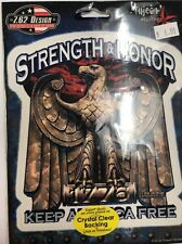 """New Military """"Strength & Honor"""" Sticker / Decal Army Navy Marines Air Force"""