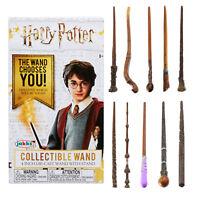 Harry Potter Diecast Coleccionable Varitas Serie 1 & 2 Elige Tu Favorito