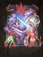 Blizzard Employee Only QA Dept - Shop Shirt Diablo Warcraft Starcraft - Sz Med