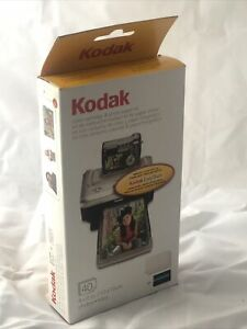Kodak Imagelink PH-40 Color Cartridge & Photo Paper Kit Open Box