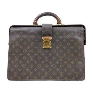 Louis Vuitton LV Brief Case FERMOIR M53305 Browns Monogram 1417670