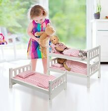 Triple Bunk Bed For 18 Inch Dolls Toys Girls Age 10 American Girl Doll Furniture