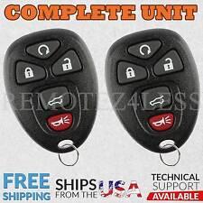 2 For 2007 2008 2009 2010 GMC Yukon XL 1500 Keyless Entry Remote Car Key Fob