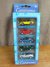 (S3) CARARAMA HONGWELL 1:72 COFFRET BOXED x5 MAZDA BMW Z3 PORSCHE MERCEDES CLK